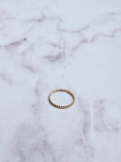 MELISSA RING GOLD FILLED
