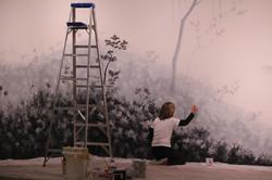 Pintura em processo, 2013.