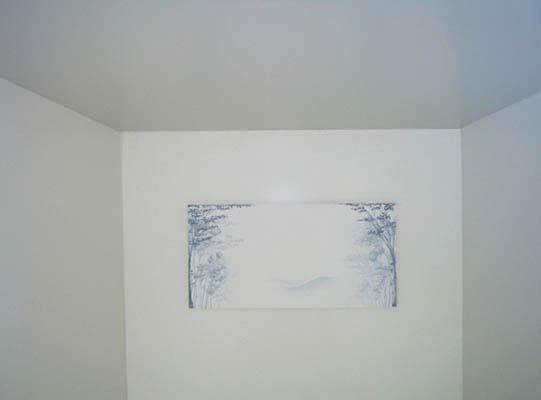 Detalhe interno da obra