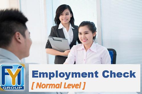 Employment Verification [Normal Level]