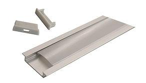 Алюминиевый профиль встраиваемый, 2 м