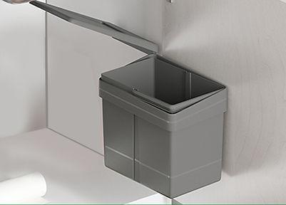 Ведро кухонное, пластиковое, объём15 л2.