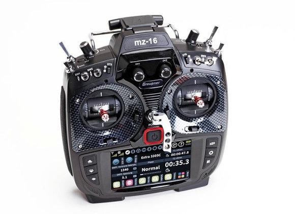 mz-16 - 16 Channel 2.4 GHz HoTT Color TFT - GR18 Receiver - Dual RF - MP3 - WiFi
