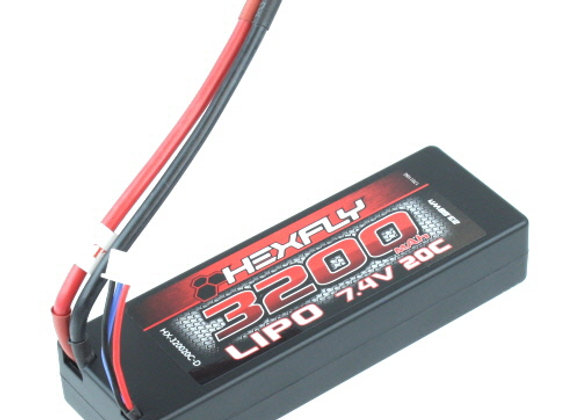 7.4V 3200 mAh LIpo battery with Deans connector