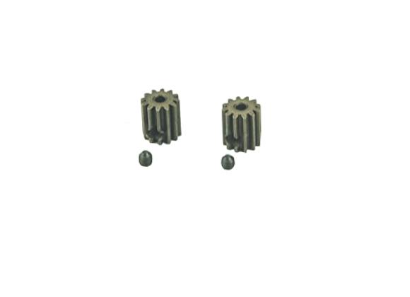 Motor Pinion Gears 13T + Set Screws 3*3mm(2P)-brushed