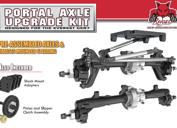 Portal Axle Kit Assembled (Everest Gen 7)