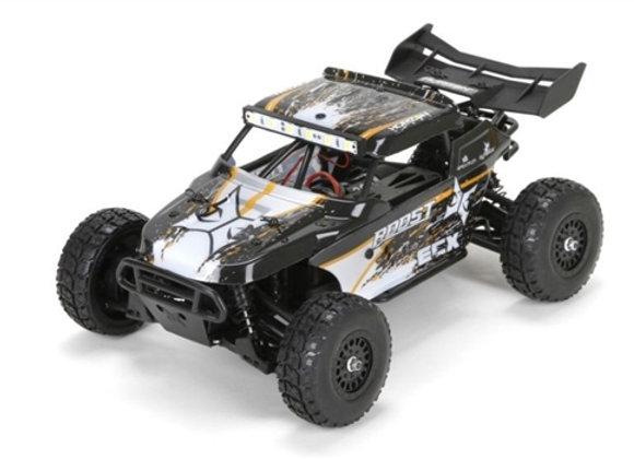 1/18 Roost 4WD Desert Buggy Brushed RTR, Black/Orange (ECX01005T1)