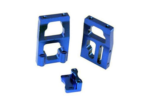 Aluminum Futaba Steering Servo Mount (Blue)