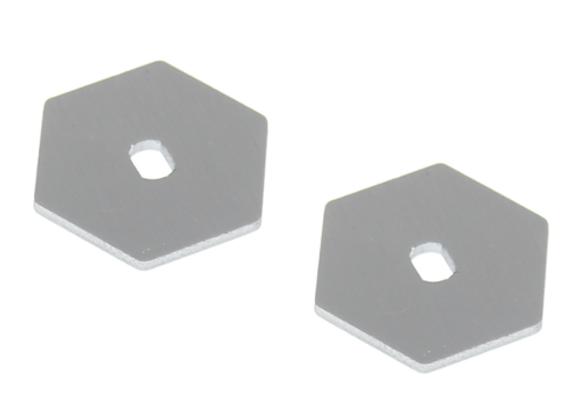 Metal Slipper Plate (2pcs)