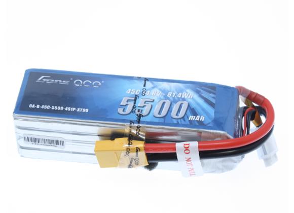 Gens Ace 5500mAh 45C 4S Battery