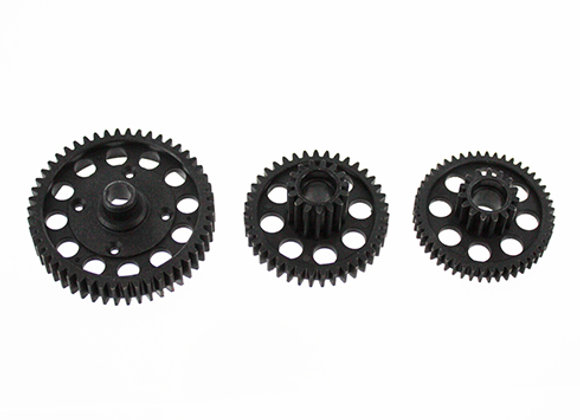 Spur Gear(50T) and Driven Gears