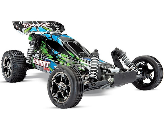 Bandit VXL: 1/10 Scale Off-Road Buggy. Ready-to-Race� with TQi Traxxas Link