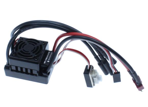 Terremoto 10 V2- Hobbywing 60A Brushless Speed Controller, Splashproof