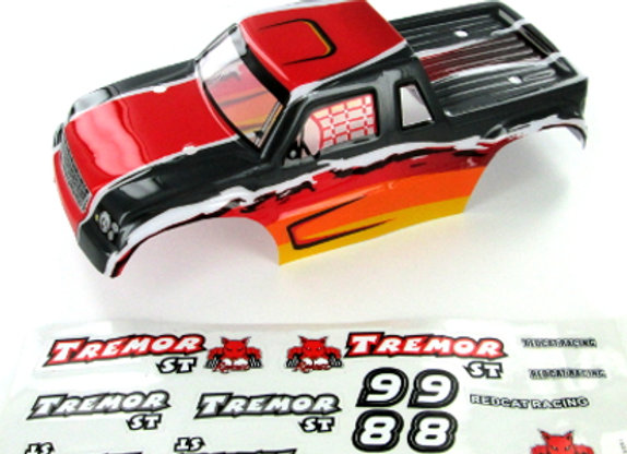 Tremor ST Truck Body, Red