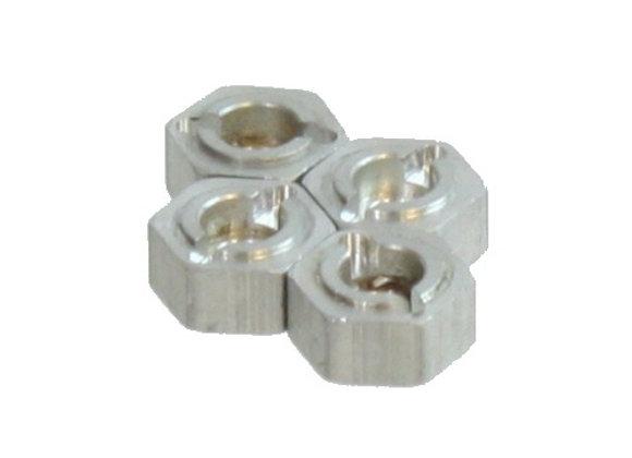 Wheel Hex, Aluminum (4pcs)