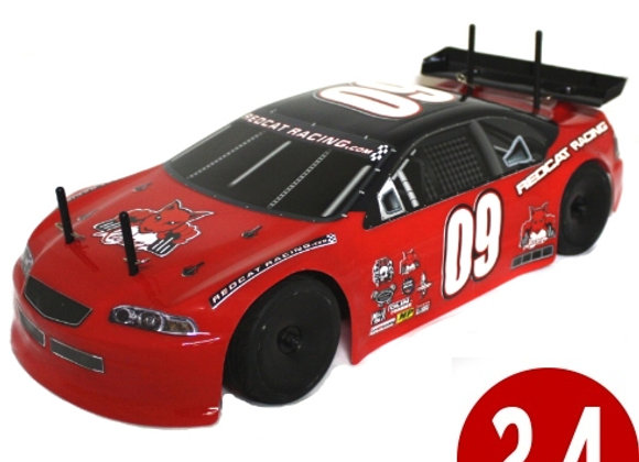LIGHTNING STK 1/10 SCALE ON ROAD CAR (Red)