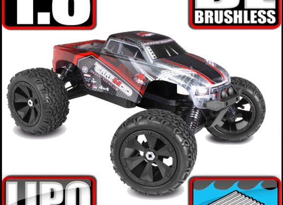 TERREMOTO-V2-RED 1/8 Scale Brushless Electric Monster Truck