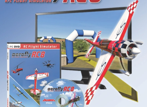 AeroflyRC8 (DVD for Win 7/8/10)