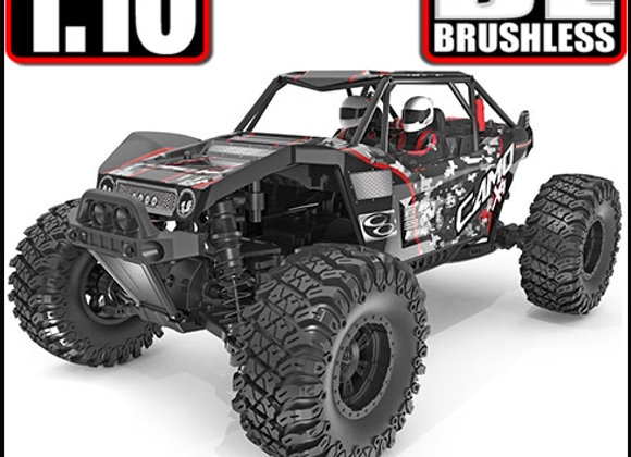 Camo X4 PRO 1/10 Scale Brushless Electric Rock Racer    SD3688 - Box Damage (A)