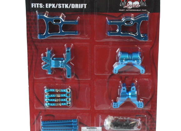 Lightning Pro/Drift/STK hop up kit (New version) (Blue)