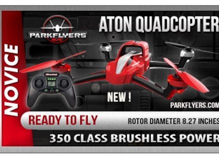 Aton Quadcopter 3000mAh 3S LiPo Fixed Mount w/ charger