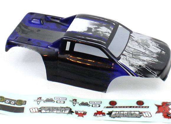 1/16 Rock Crawler Body, Blue