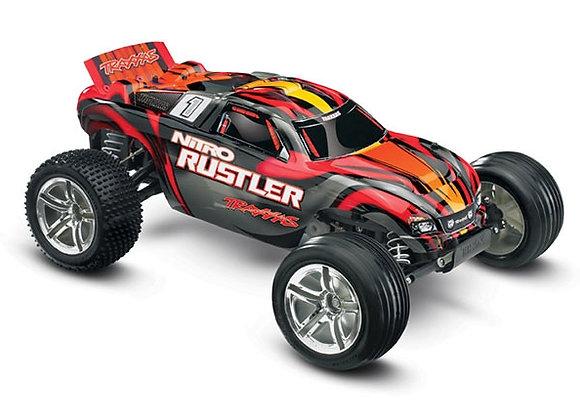 Traxxas Nitro Rustler 1/10 Scale 2WD Stadium Truck - RC Car