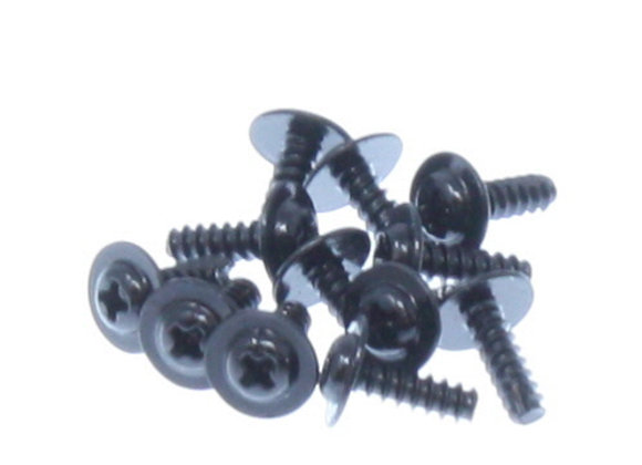 Flange Head Self Tapping Screws 2.6*8mm (12P)