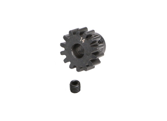 M1.0 Pinion Gear for 5mm Shaft 14T