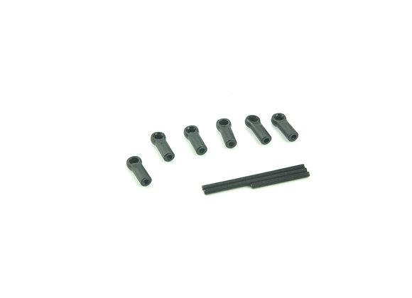 Front Steering Links (2pcs)+ Servo Link
