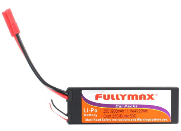 Lipo Battery 11.1V 3900mAh ***MUST USE A LIPO SPECIFIC CHARGER***