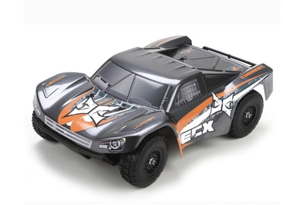1/18 Torment 4WD SCT RTR, Gray/Orange (ECX01001T1)