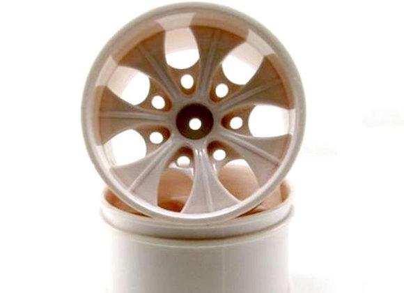 2.8 White 7 spoke wheels 2pcs fits VOLCANO EPX/EPX PRO,VOLCANO S30