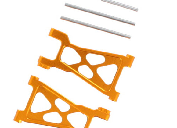 Aluminum Front/Rear Lower Suspension Arm (2pcs)(Gold) ~