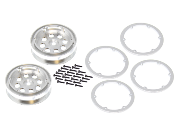 Aluminum Wheel (2pcs) (Includes Beadlocks)