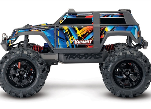 72054-5 - Summit: 1/16 Scale 4WD Electric Extreme Terrain Monster Truck.