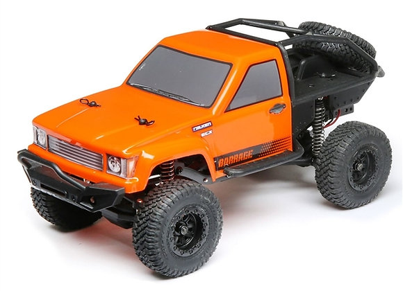 1/24 Barrage 4WD Scaler Rock Crawler RTR, Orange (ECX00017T1)