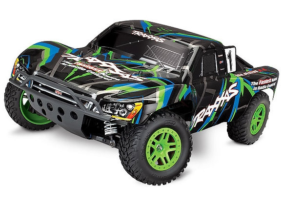 68054-1 - Slash 4X4: 1/10 Scale 4WD Electric Short Course Truck. Ready-to-Race