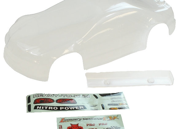 1/10 200mm Road Body, Clear