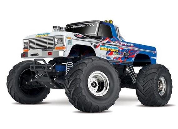 Bigfoot No 1 Monster Truck BLUE/WHITE Color