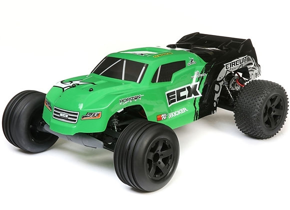 1/10 Circuit 2WD Stadium Truck Brushed RTR, Green (ECX03430T2)