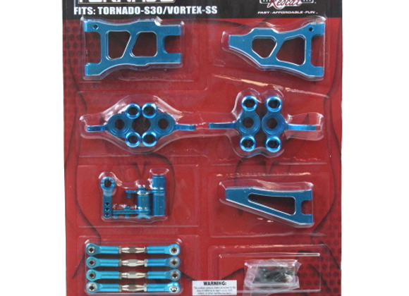 TornadoS30/Vortex SS Pro hop up kit (New version) (Blue)