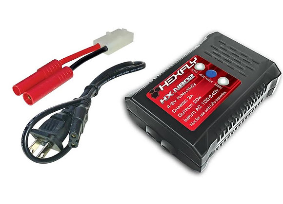 Hexfly HX-N802 20W AC charger for 4-8s Nimh/Nicd Battery Packs