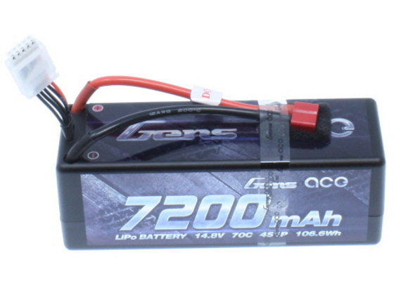 GensAce 7200mAh 4S1P 70C Battery