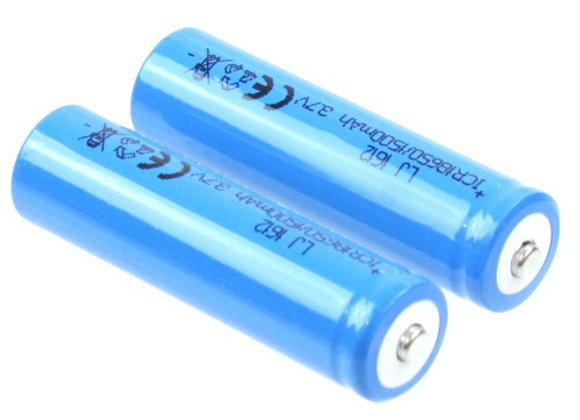 3.7V,1500mAH (Li-ion Batteries) 2pcs