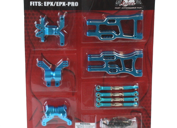 Tornado EPX Pro hop up kit (New version) (Blue)