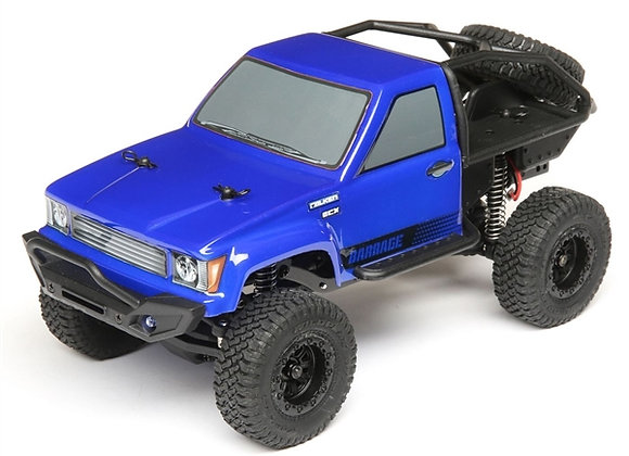 1/24 Barrage 4WD Scaler Rock Crawler RTR, Blue (ECX00017T2)