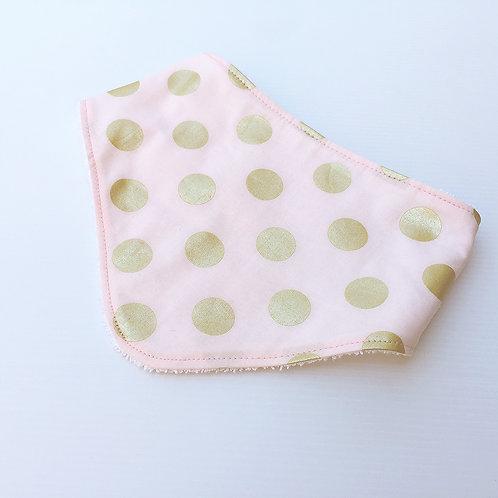 Glitz spots bandana bib