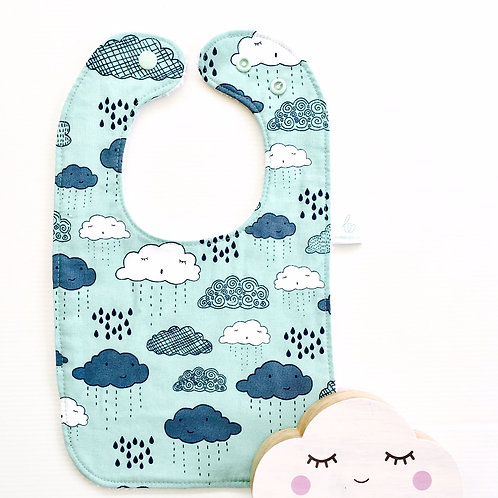 Greatest Adventure Clouds Bib