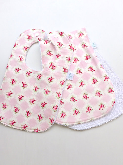 Cameo roses in pink bundle